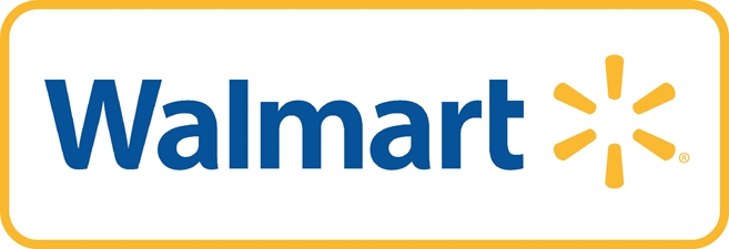 VP-1500 - Carved Wall Plaque of the Logo of Walmart,  Artist Painted