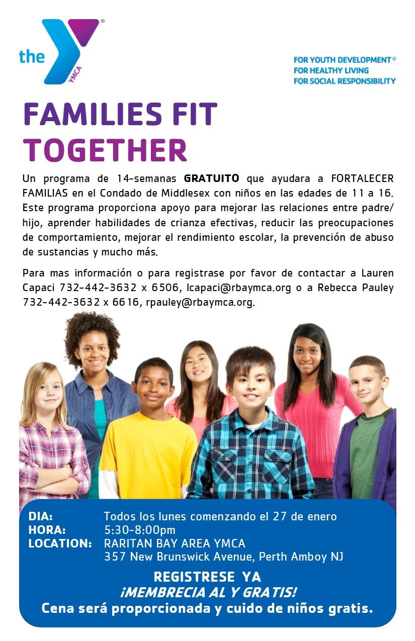 Raritan Bay Area YMCA'S Families Fit Together