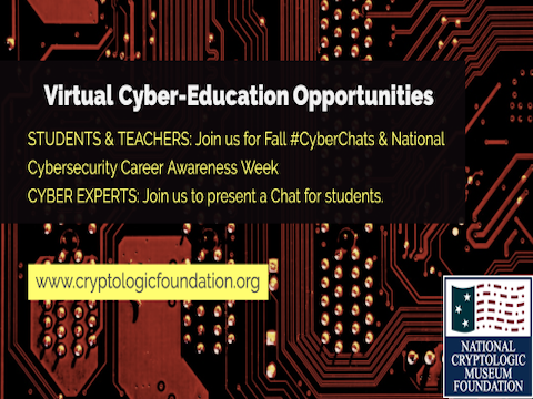 Fall Virtual Cyber Education & Teaching Opportunities