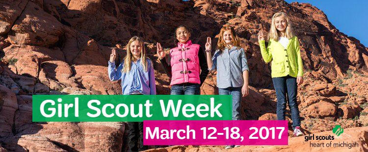 Girl Scout Week 2017