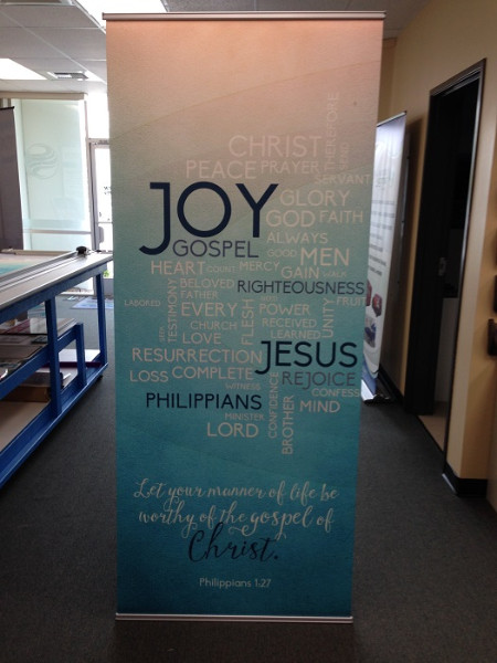 Banner Stands for Churches in Orange County