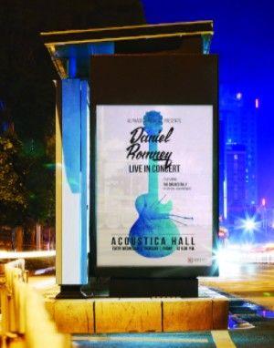 Outdoor Backlit Sign Poster