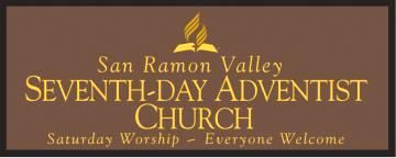 D13083 - Engraved Wall sign for Seventh Day Adventist Church