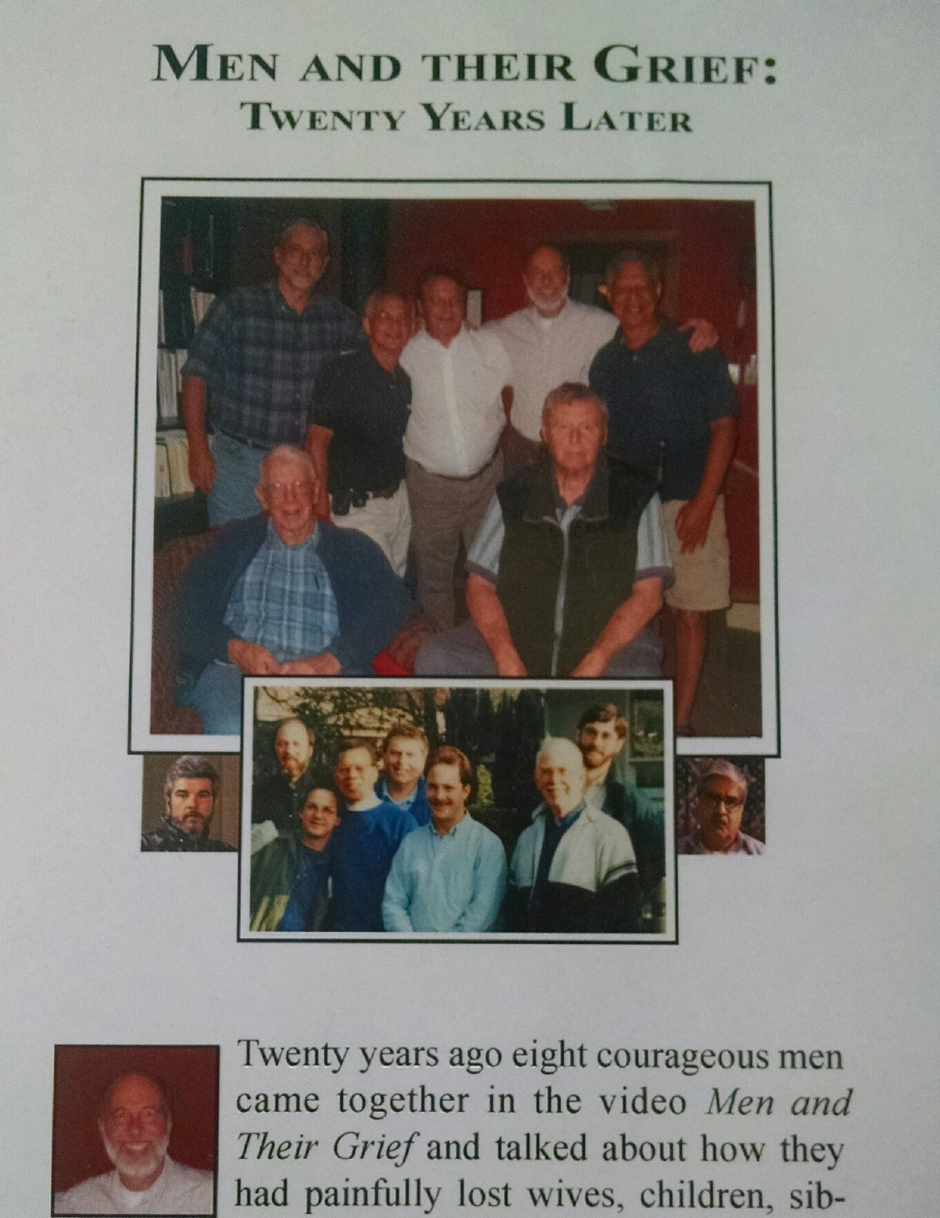 Men and Their Grief: Twenty Years Later (DVD)