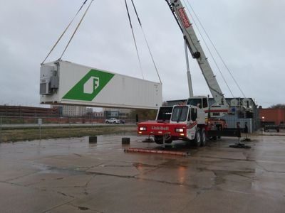 Freight Farm arrives in Lincoln
