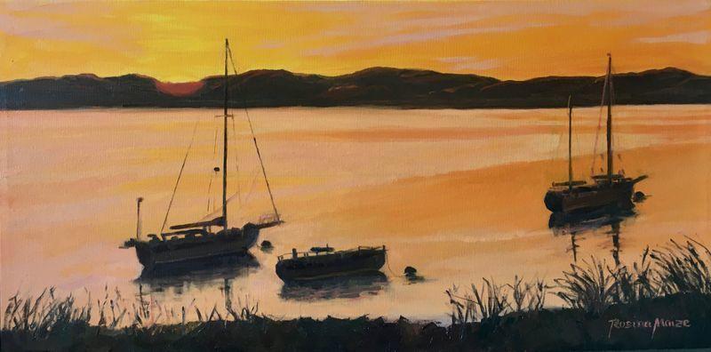Rising Tide Setting Sun