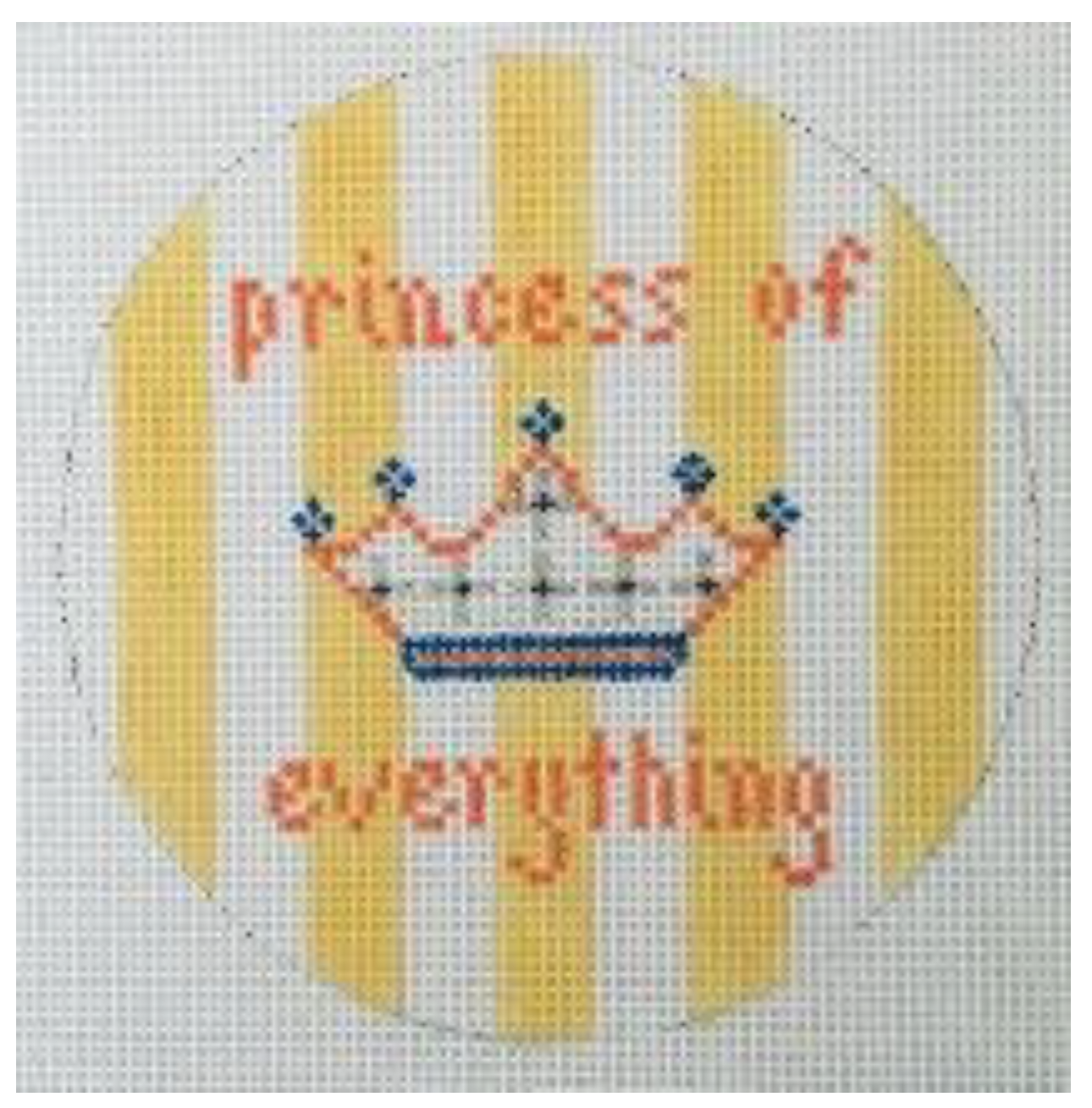 Princess of Everything - Yellow Stripes