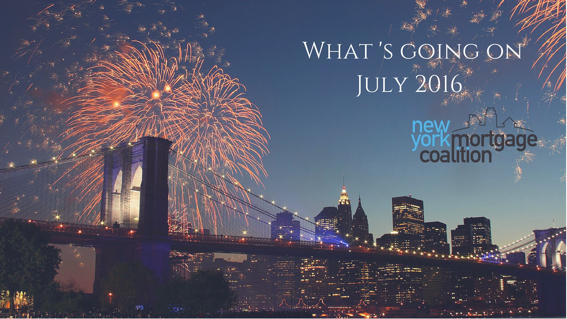What's Going On: July 2016