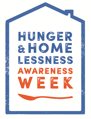 Hunger & Homelessness Awareness Week starts 11-16-19