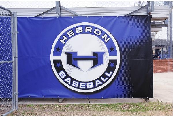 Hebron Baseball Sign