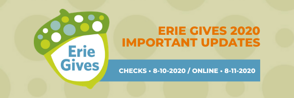 Erie Gives 2020 Updates