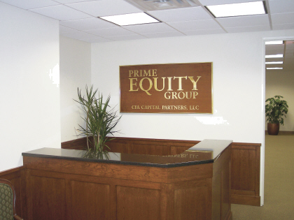Corporate Wood Plaque