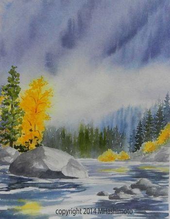 FULL Virtual Watercolor with Molly Hashimoto