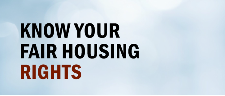 KNOW YOUR FAIR HOUSING RIGHTS: A Workshop for the IDD Community in California