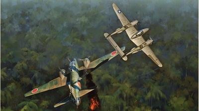 1943: Shootdown of Admiral Yamamoto.