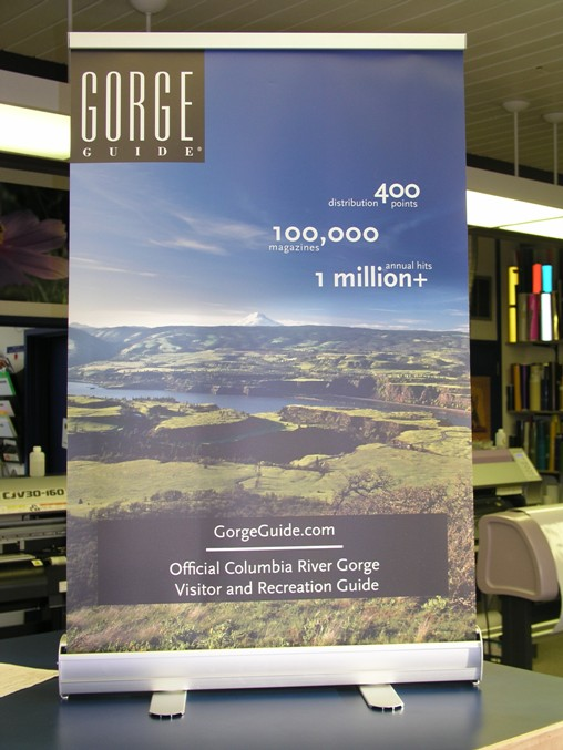 Gorge Guide Banner Stand