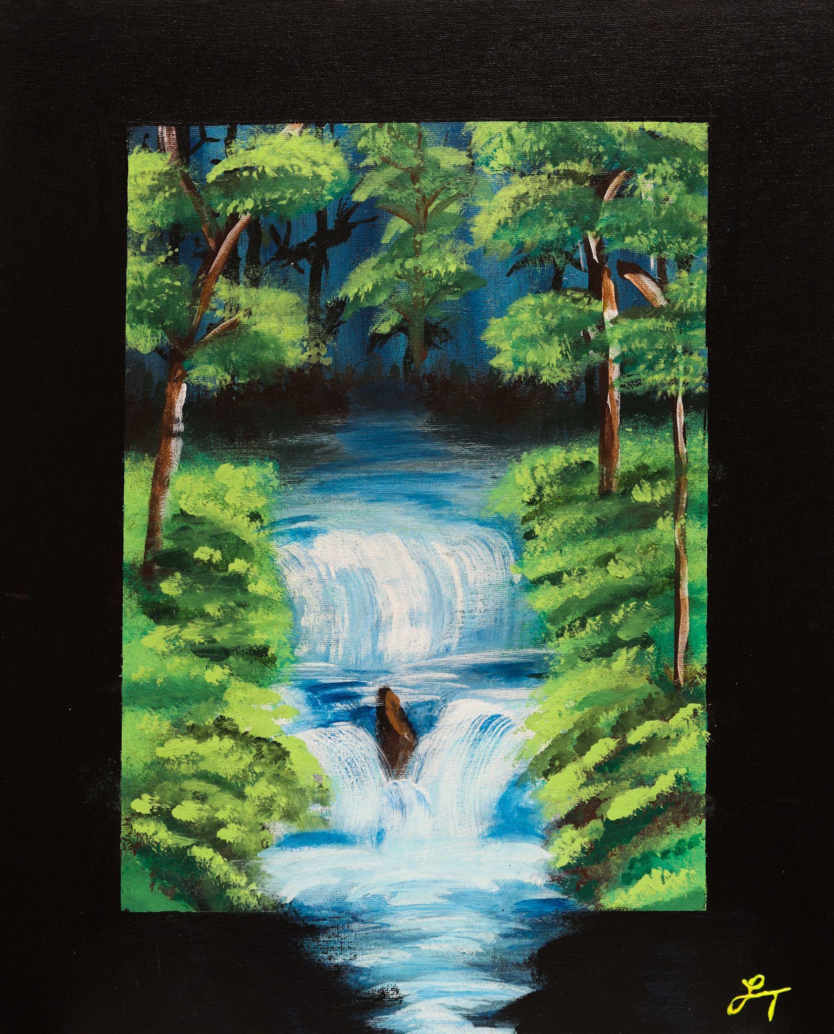 """Waterfall"" - Lesly Trelfa"