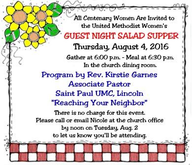 Salad Supper