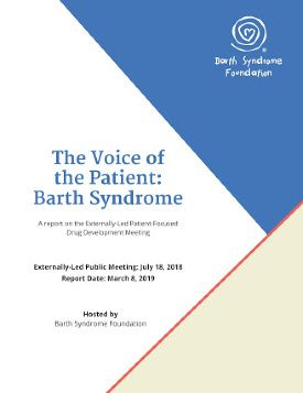 Voice of the Patient: Barth Syndrome