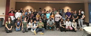 Students and mentors in Goodwill's Summer Bridge program