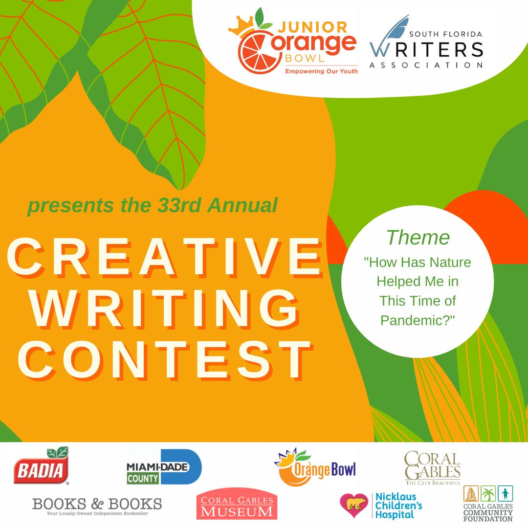 JUNIOR ORANGE BOWL CREATIVE WRITING CONTEST