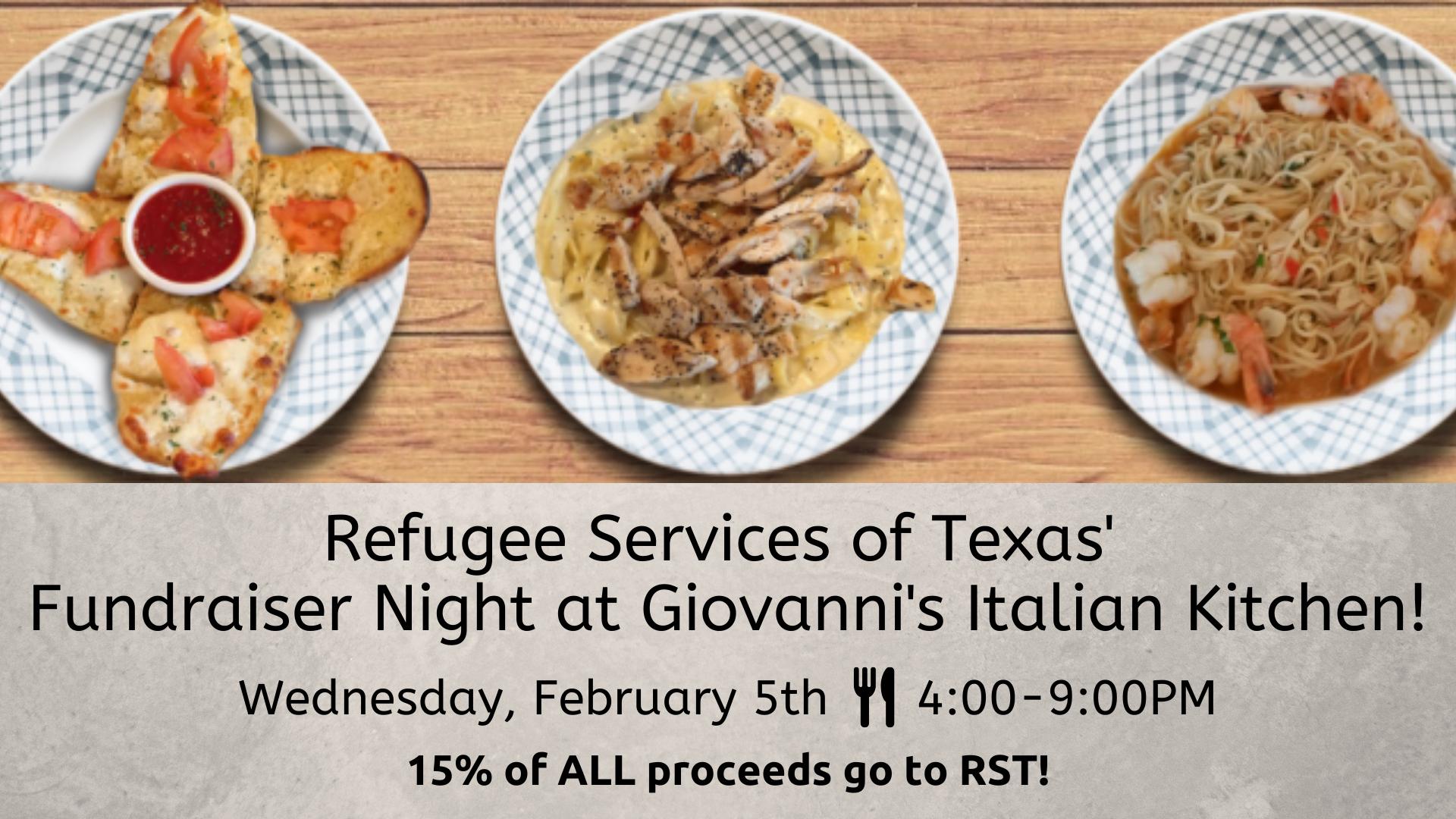 Fundraiser Night at Giovanni's Italian Kitchen