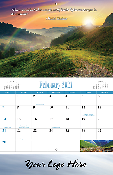 MOMENTS OF INSPIRATION 13-MONTH CALENDAR