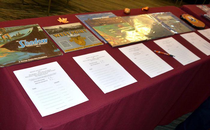 NCMF Silent Auction items.