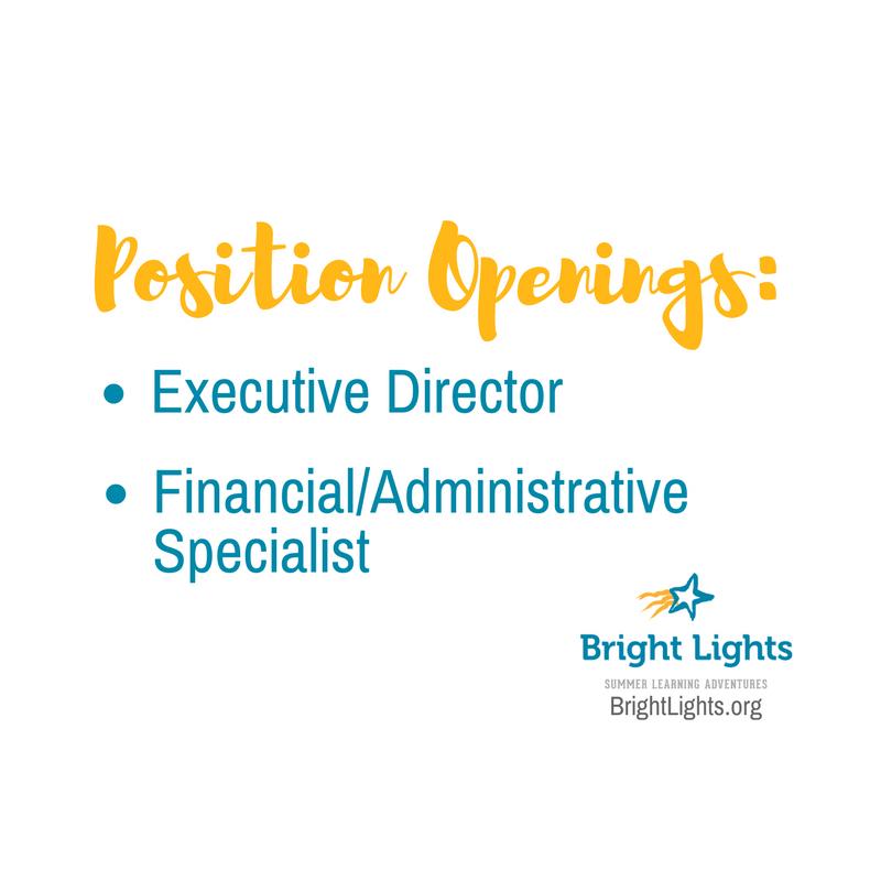 Join the Bright Lights team!