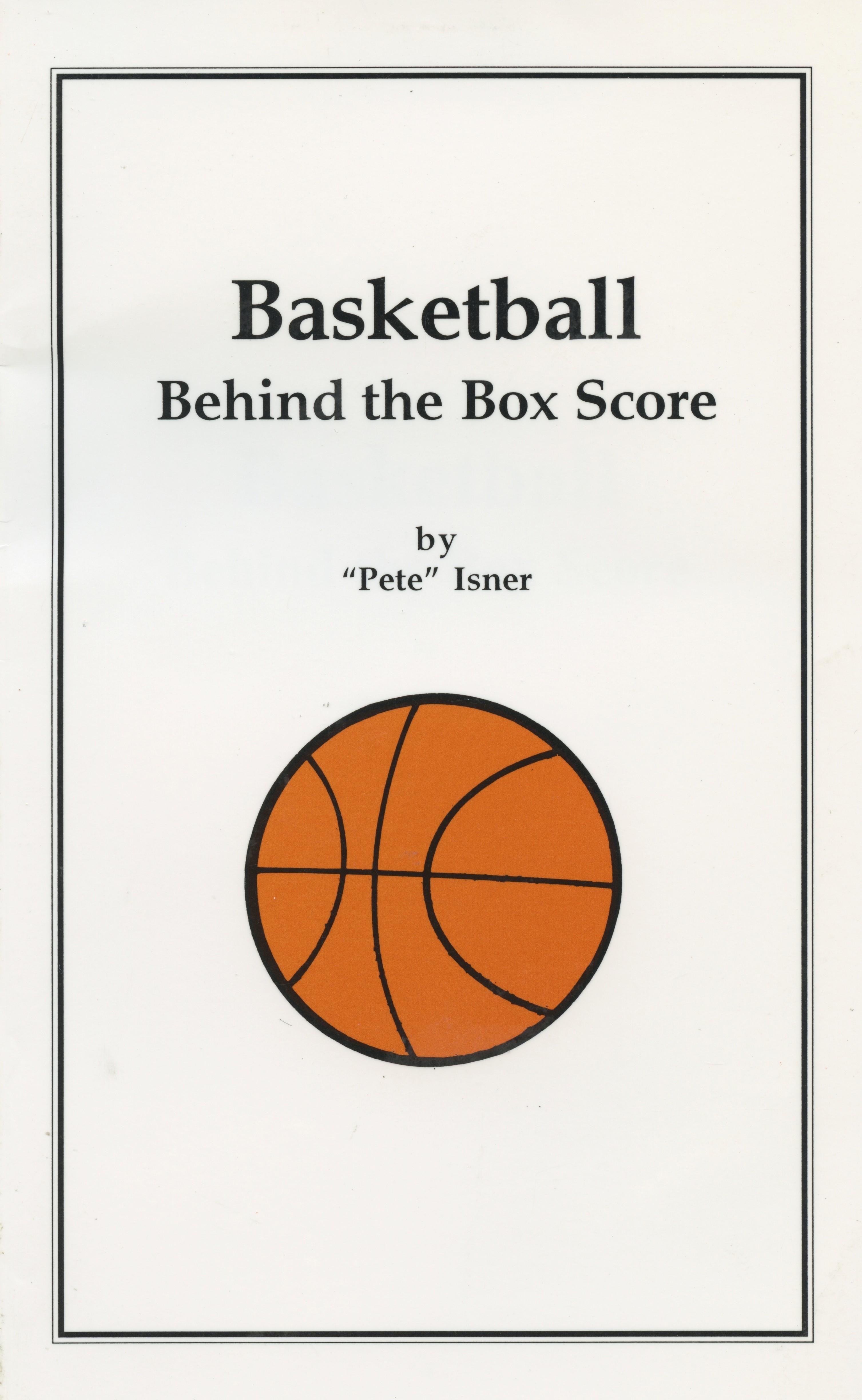 Basketball Behind the Box Score