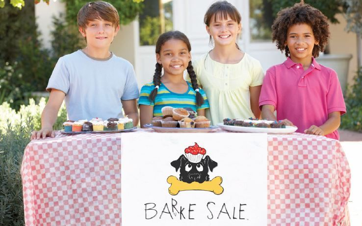 Canines-N-Kids Encourages Kids Nationwide to Host a BARKE SALE to Beat Cancers Shared by Kids and Dogs  Foundation Offers Tool Kit to Make It Easy