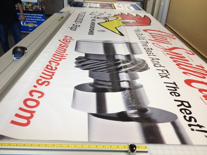 Auto Repair Banners