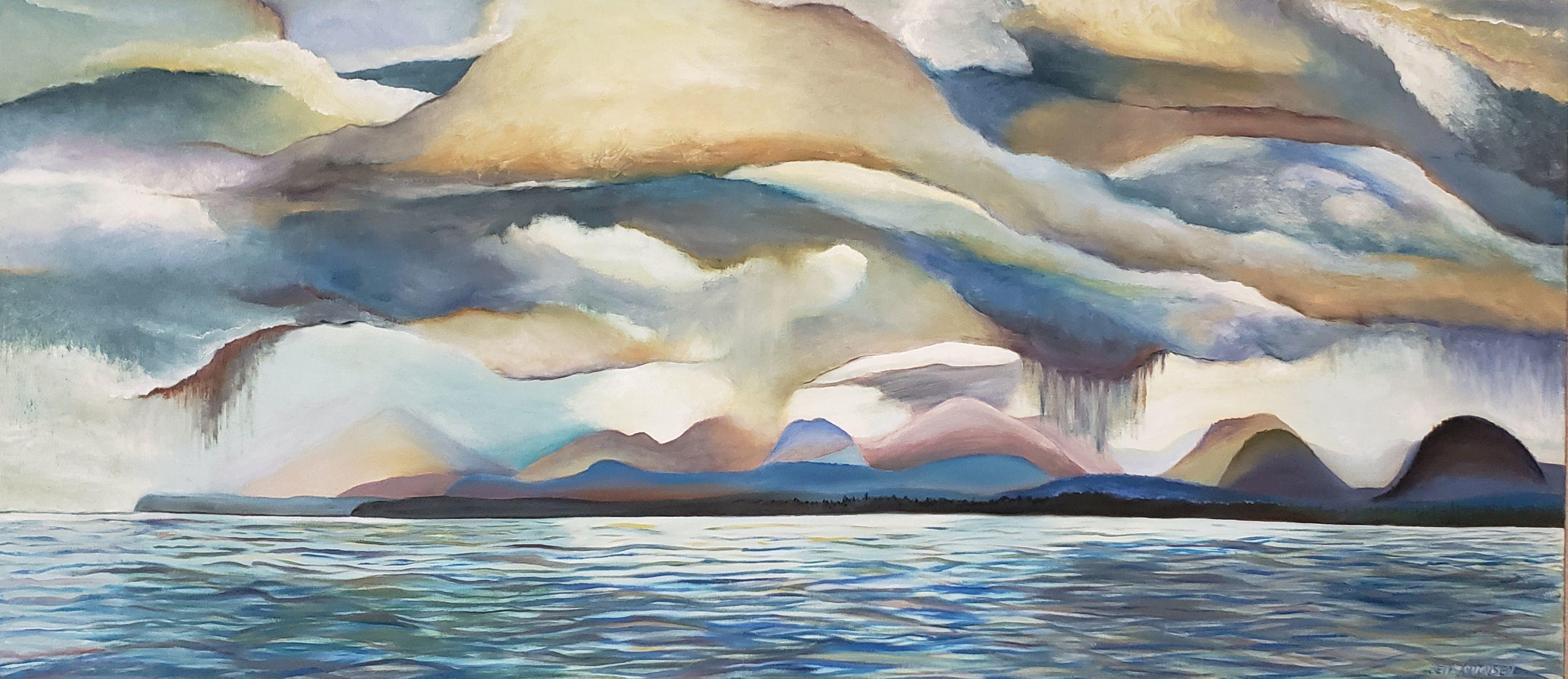 """Annette Island Rain Squalls"" - Beth Antonsen"
