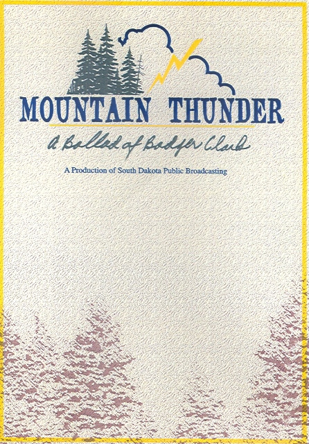DVD - Mountain Thunder - A Ballad of Badger Clark