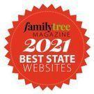 Family Tree Magazine 2021 Best State Websites Award
