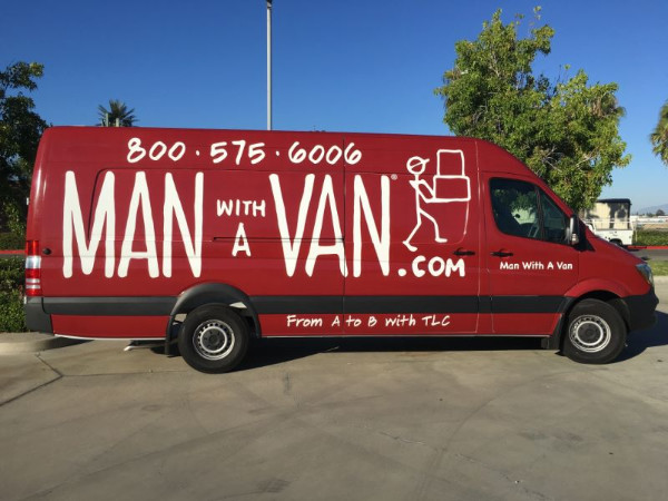 Fleet graphics for moving and storage companies in Orange County CA