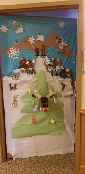 Rudolph the the Red Nose Reindeer-Door Decorating