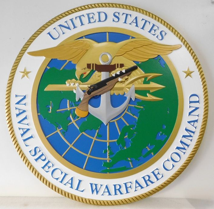 CA1155 - Seal of the Naval Special Warfare Command