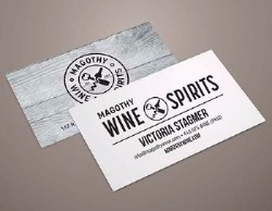 Business cards strategic factory owings mills md 5 ways to make your business card pop reheart Images