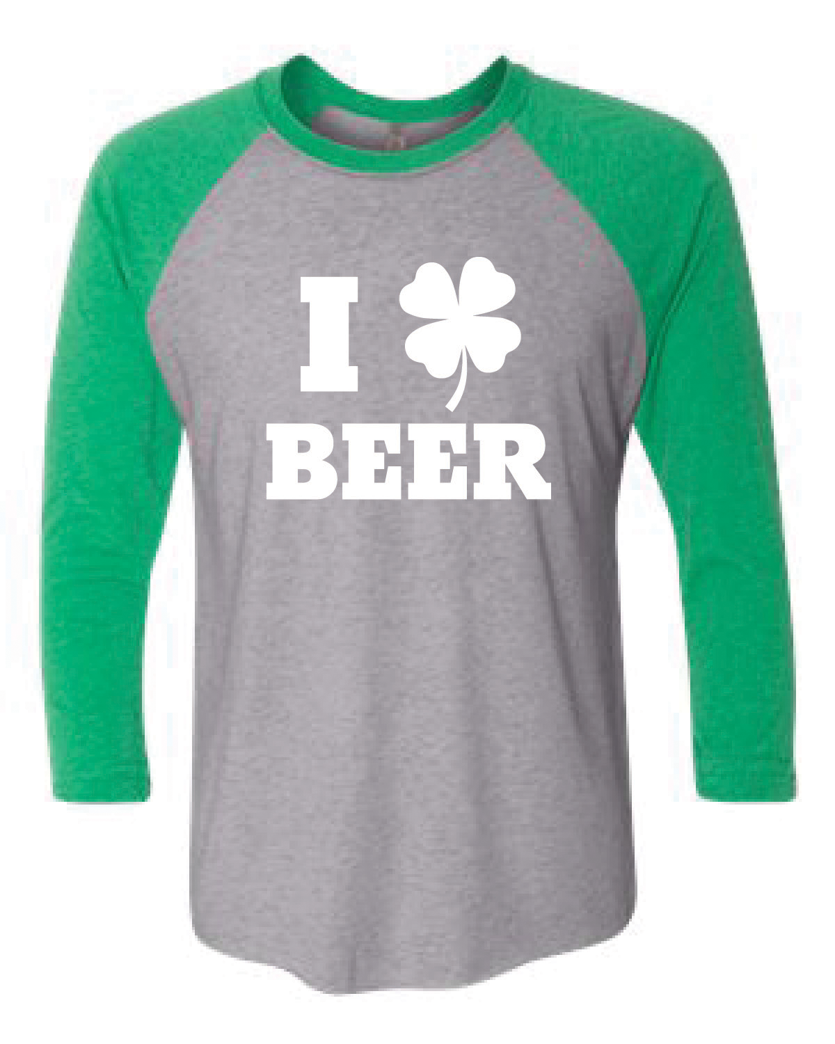 Baseball T-Shirt (I LOVE BEER)