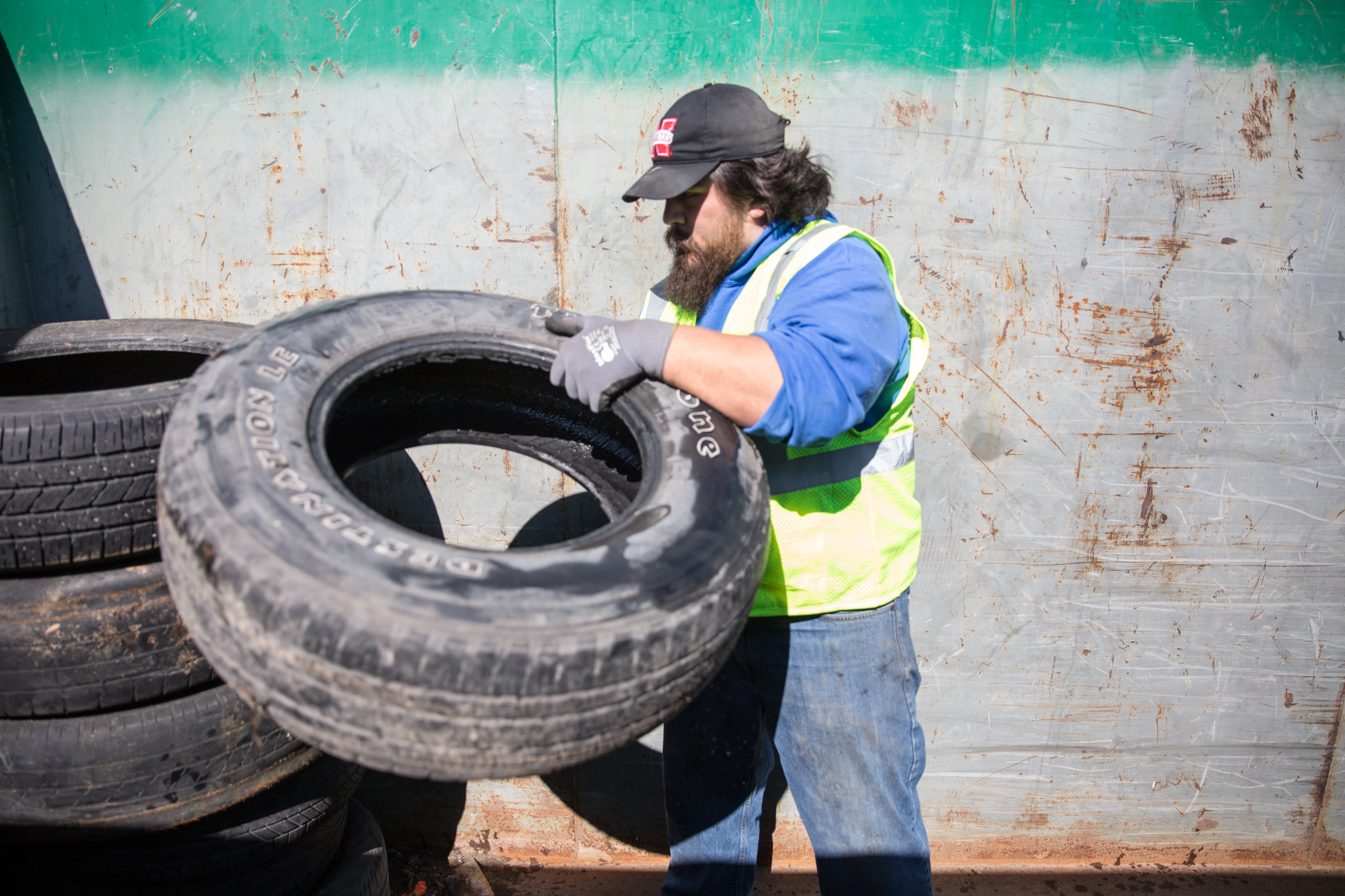 Free Tire Recycling Event
