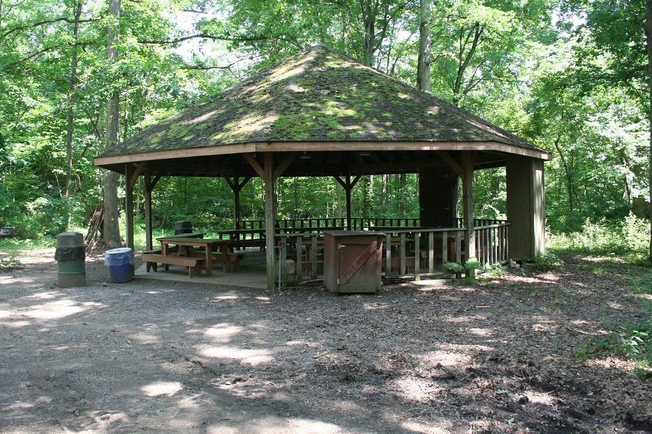 Octagon Picnic Shelter