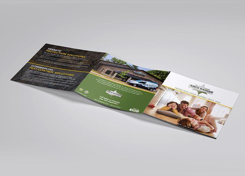 Square Brochure | Back