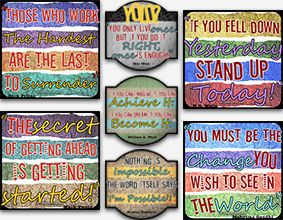 Quoted Murals