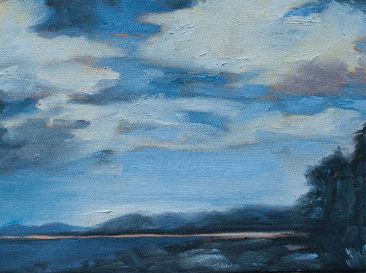 """Julie Berg-Linville - """"Refuge Cove"""""""