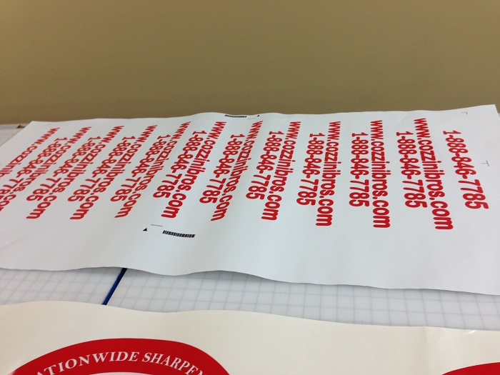 Vinyl lettering for fleets in Orange County