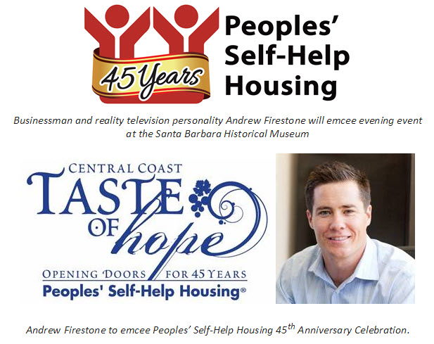 Peoples' Self-Help Housing to Host 45th Anniversary Gala, Auction Nov. 13