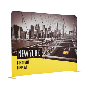 New York 'Stretch' Fabric Straight Display