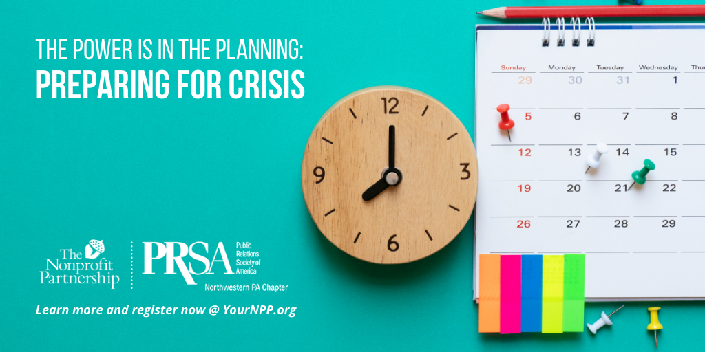 The Power is in the Planning: Preparing for Crisis