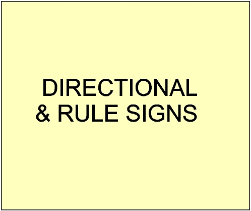 G16350 - Carved Directional, Wayfinding,Information and Rule  Signs for Federal, State, County and Commercial Parks and Recreational Areas